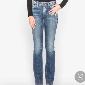 NWOT Silver Western Gloves Works Jeans, Size 30/32